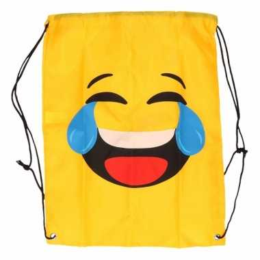 Emoticon rugtasje lol