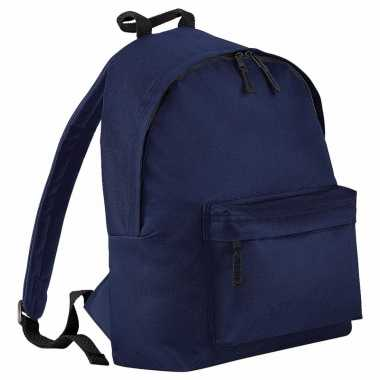 Junior rugtas navy blauw 14 liter